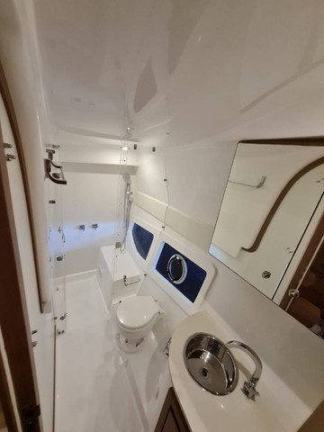 Lancha Phantom 37,5 Hard top , ano 2018, barco impecável. - Foto 11