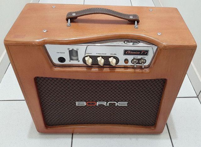 Amplificador cubo valvulado Classico T7 Borne - Foto 2