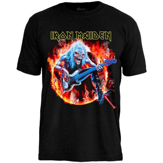 Camisetas de Banda de Rock - Foto 5