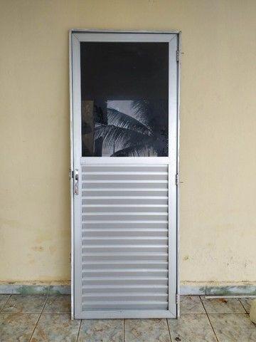 Porta da alumínio escritório - Foto 2