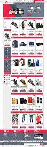 Loja virtual de perfumaria e confecções Completa - Foto 2