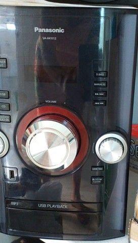 Mini system panasonic sc akx12lb k
