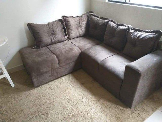 Sofa de canto Larissa direto da fabrica - Foto 2