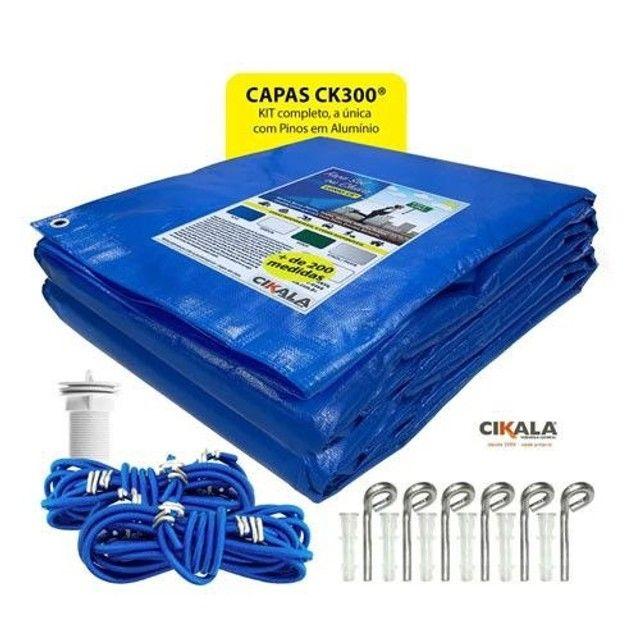 Vendo Capa de Piscina 5X3 para Sujeira CK300 pead com kit de Instalação em Alumínio