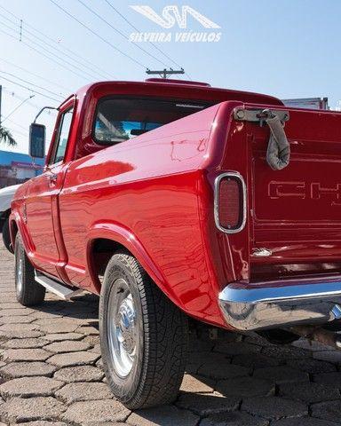 Chevrolet C10 Diesel - Ano: 1974 - Raridade - Foto 8