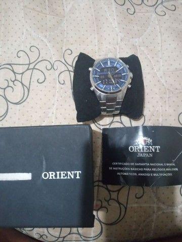 Vendo relógio orient R$- 700.00  - Foto 3