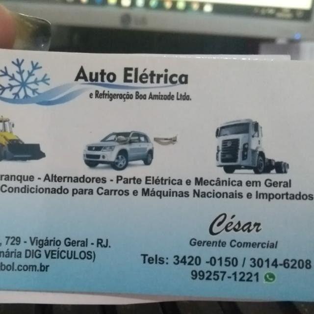 Técnico de refrigeração automotivo.