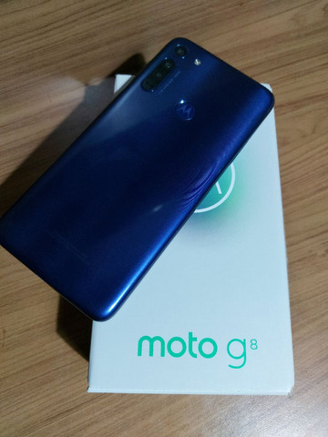 Moto g8 64gb novooo - Foto 3