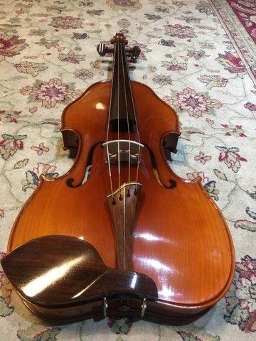 viola de arco rolim premium maestro lizuka serie limitada orquestra 42 - Foto 6