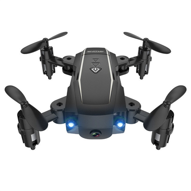 Mini Drone Câmera 2.4g Wifi Fpv 2k Hd Dobrável Longa Vida Controle Rc Quadcopter R$ 350,00 - Foto 2