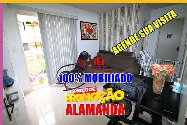 Tarumã Apartamento com 2 Quartos Condomínio jardim paradiso Alaman - Foto 11