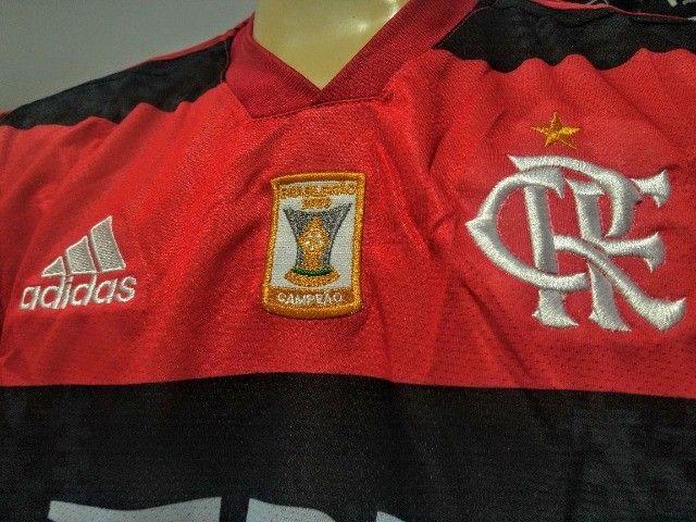 Camisa Flamengo Dry-Fit Time Premium - Foto 3