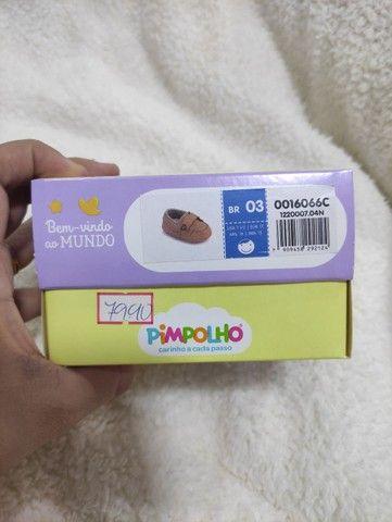 Sandália pimpolho - bebê - número 3 - Foto 5