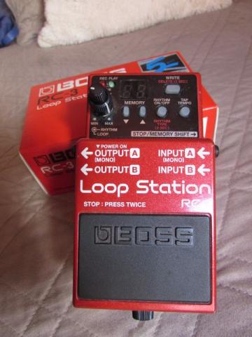 Pedal Boss RC3 - Loop Station