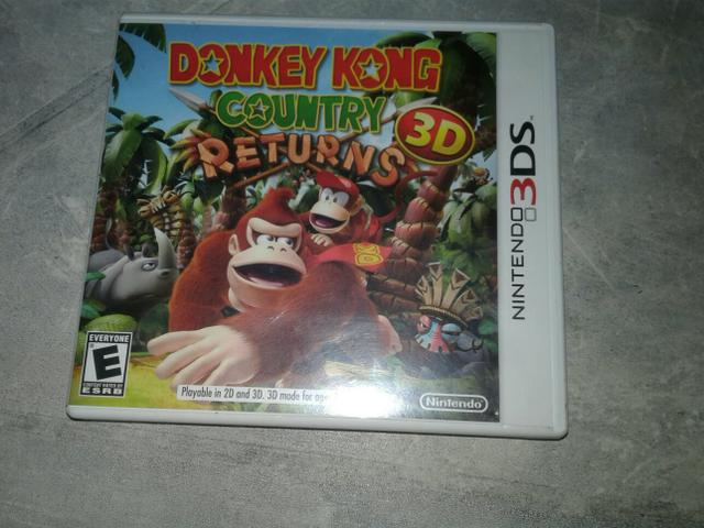 Donkey Country returns 3ds