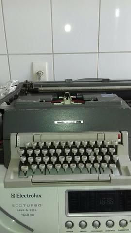 Maquina datilografia manual