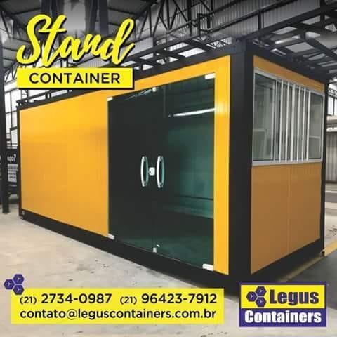 Container Stand de Vendas é na Legus