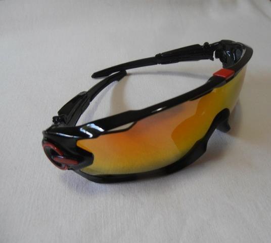 c61b386ac55e0 Óculos De Sol Esportivo Ciclista 4 Lentes - Ciclismo - Bairro Alto ...