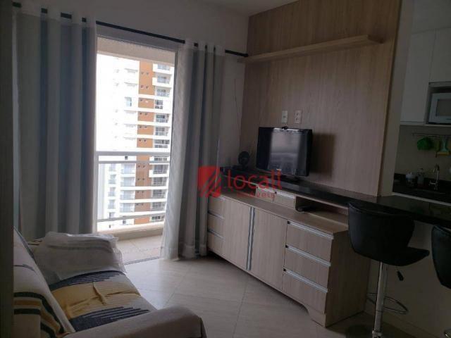 Apartamento com 1 dormitório para alugar, 40 m² por r$ 1.500,00/mês - jardim novo mundo -  - Foto 11