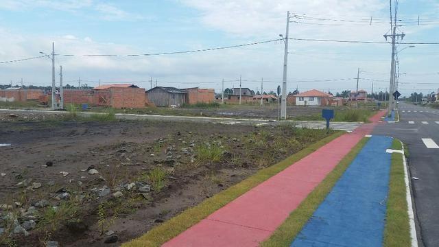 Terreno com pequena entrada, loteamento todo asfaltado - Foto 12