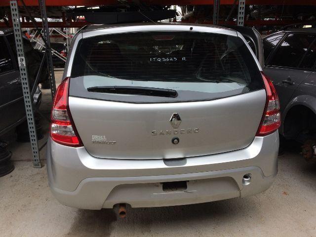 Peças usadas Renault Sandero 2012 2013 1.0 16v flex 77cv câmbio manual