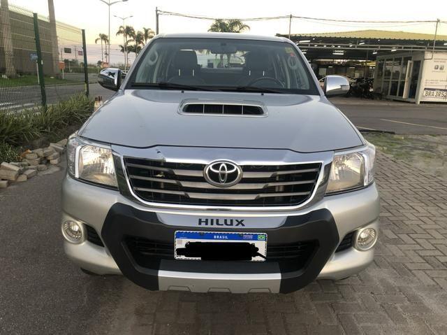 Hilux srv automático 3.0 diesel ano 2013 - Foto 14