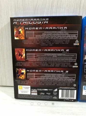Coleção Blu Ray Homem Aranha 05 Filmes - Foto 4