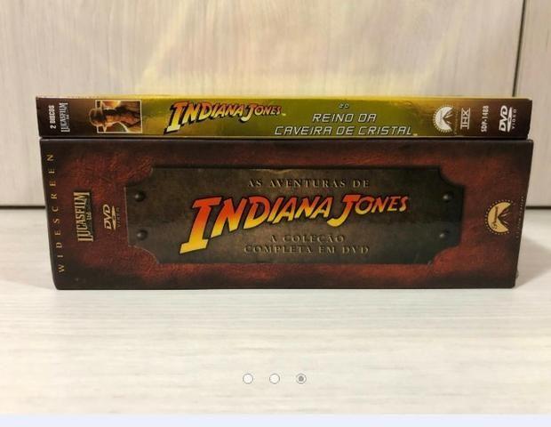 Coleção Completa Dvds Indiana Jones - Foto 2