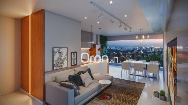 Apartamento com 3 dormitórios à venda, 92 m² por r$ 340.000,00 - parque amazônia - goiânia