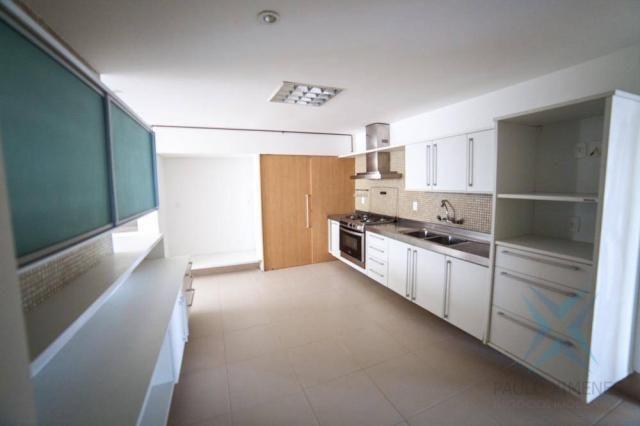 Apartamento vista mar com 4 dormitórios à venda, 352 m² por r$ 650.000 - antônio diogo - f - Foto 10