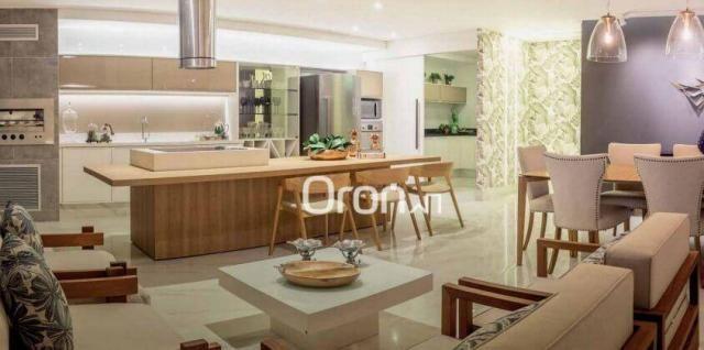 Apartamento com 4 dormitórios à venda, 440 m² por r$ 2.971.000,00 - setor marista - goiâni - Foto 6