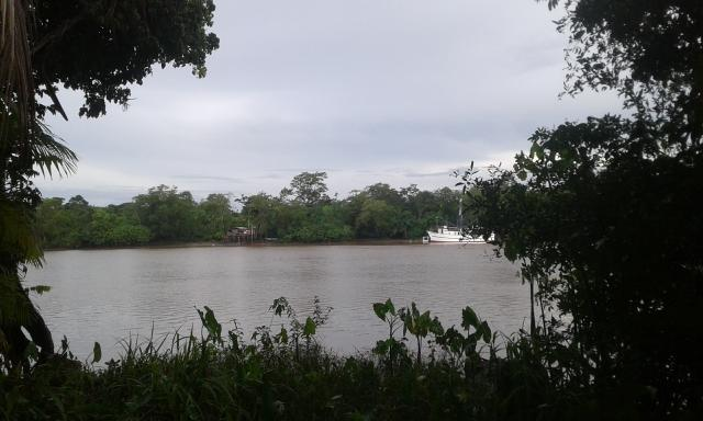 Terreno de frente pro rio maguari em outeiro