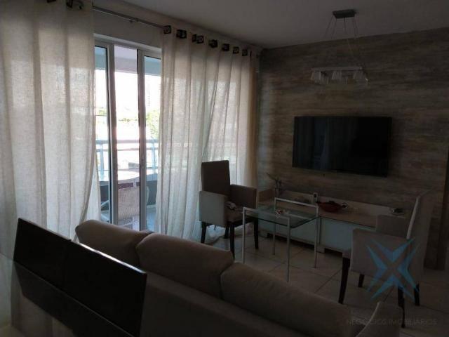 Apartamento com 1 dormitório à venda, 48 m² por r$ 300.000 - praia de iracema - fortaleza/ - Foto 5