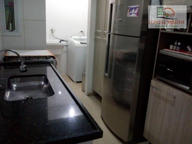 Apartamento com 2 dormitórios para alugar, 50 m² por r$ 1.300/mês - vila alto de santo and - Foto 13