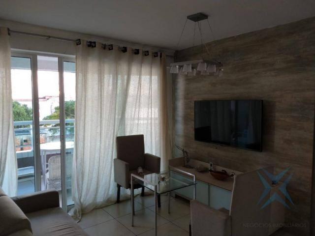 Apartamento com 1 dormitório à venda, 48 m² por r$ 300.000 - praia de iracema - fortaleza/ - Foto 9