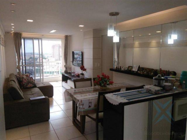 Apartamento com 3 dormitórios à venda, 74 m² por r$ 410.000,00 - cambeba - fortaleza/ce - Foto 4