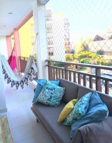 Apartamento wellness beach park resort , com 4 dormitórios à venda, 135 m² por R$ 950.000  - Foto 3