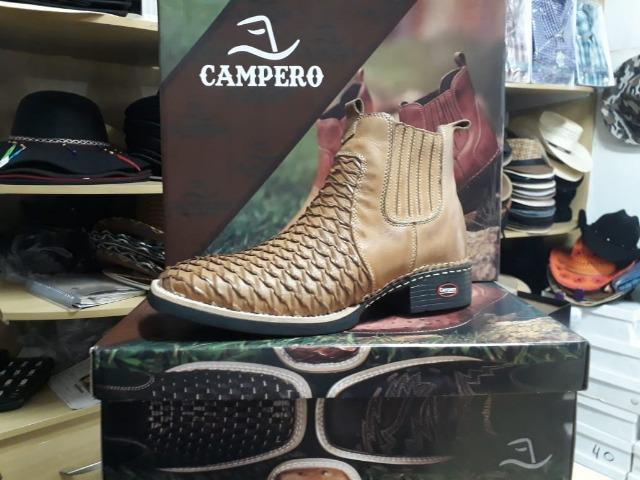 Bota Campero® de Couro NOVA - Foto 6