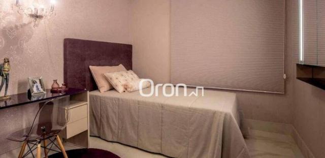 Apartamento com 4 dormitórios à venda, 440 m² por r$ 2.971.000,00 - setor marista - goiâni - Foto 10