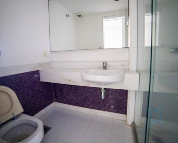 Apartamento vista mar com 4 dormitórios à venda, 352 m² por r$ 650.000 - antônio diogo - f - Foto 2