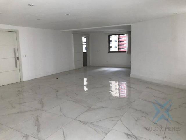 Apartamento com 4 dormitórios à venda, 357 m² por r$ 2.680.000,00 - meireles - fortaleza/c - Foto 18