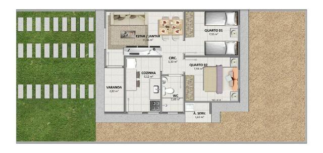 Casa 2/4 Piranga II Juazeiro-Ba - Foto 7