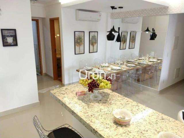 Apartamento com 3 dormitórios à venda, 94 m² por r$ 380.000,00 - parque amazônia - goiânia - Foto 7