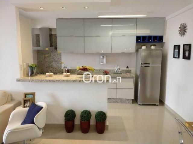 Apartamento com 3 dormitórios à venda, 94 m² por r$ 380.000,00 - parque amazônia - goiânia - Foto 11