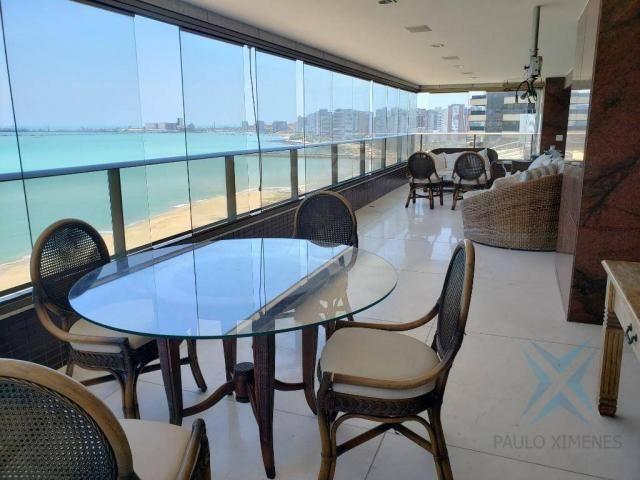 Apartamento alto padrão para alugar, 550 m² por r$ 20.000/mês - meireles - fortaleza/ce - Foto 17