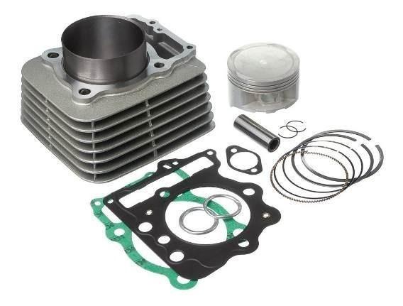 Kit Motor NX400 Falcon (1mm) Pistão Retpins + Aneis RIK - Foto 2