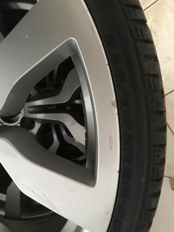 Rodas 20 com pneu - Foto 2