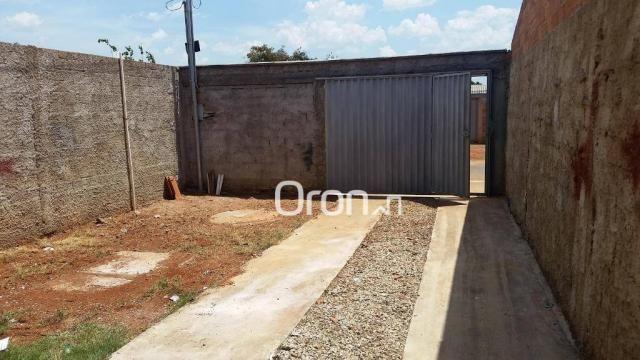 Casa com 2 dormitórios à venda, 70 m² por r$ 135.000,00 - setor cora coralina - goianira/g - Foto 3