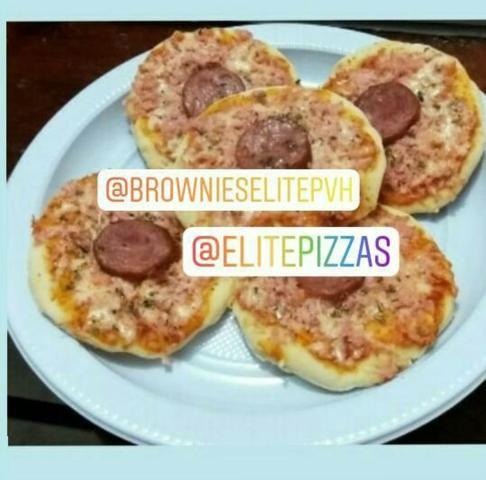 Mini pizzas a Pronta entrega passamos cartão