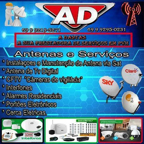 Serviços de Antena e Cameras. ADantas Representação e Serviços